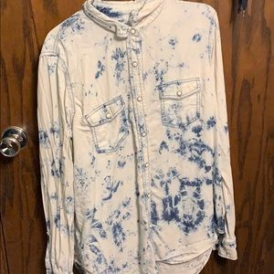 large button up